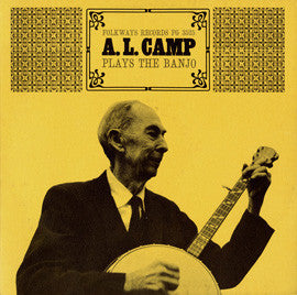 A.L. Camp  A.L. Camp Plays the Banjo (1965) CD
