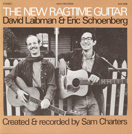 David Laibman  New Ragtime Guitar with David Laibman and Eric Schoenberg (1971) CD