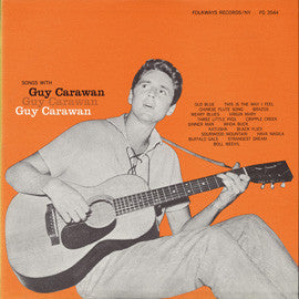 Guy Carawan  Songs with Guy Carawan (1958) CD