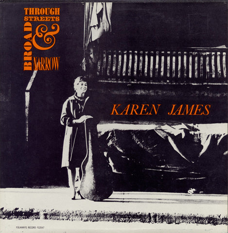 Karen James  Through Streets Broad and Narrow (1962) CD