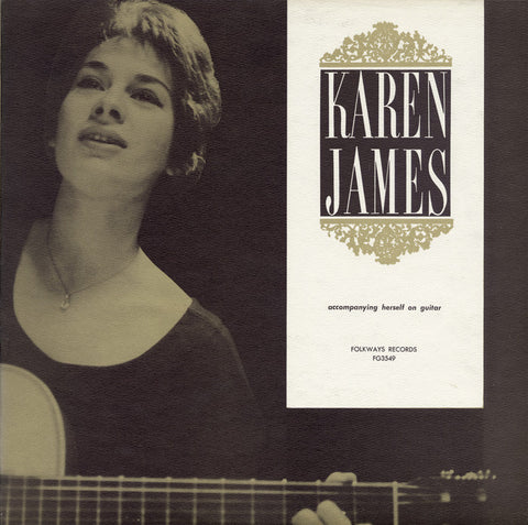 Karen James  Karen James Accompanying Herself on Guitar (1961) CD