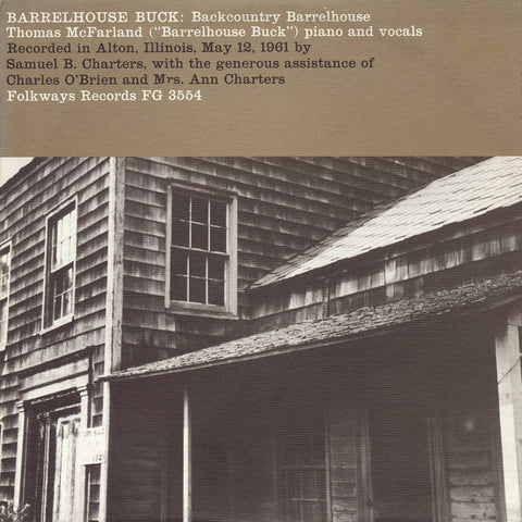Backcountry Barrelhouse (1961)  Barrelhouse Buck CD