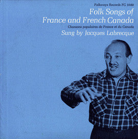 Folk Songs of French Canada (1957)  Jacques LaBrecque CD