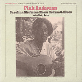 Carolina Medicine Show Hokum and Blues with Baby Tate (1984)  Pink Anderson CD