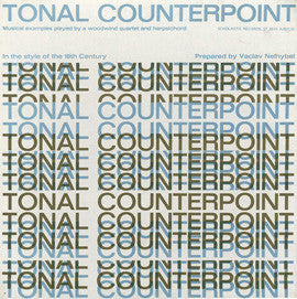 Tonal Counterpoint  150 examples of 18th Century-style music prepared by Vaclav Nelhybel (1964) 2-CD SET