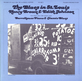 The Blues in St. Louis, Vol. 2  Barrelhouse Piano and Classic Blues (1984)  CD