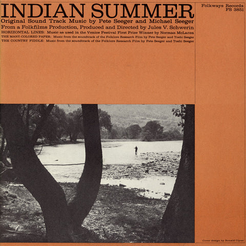Mike Seeger  Indian Summer (Original Soundtrack) with Pete and Mike Seeger (1960) CD