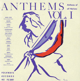 Anthems of All Nations (Includes Vol. 1 and Vol. 2) (1956) CD