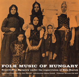 Folk Songs of Hungary (1950)  CD