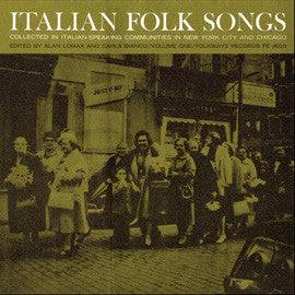 Italian Folk Songs (1965)  CD