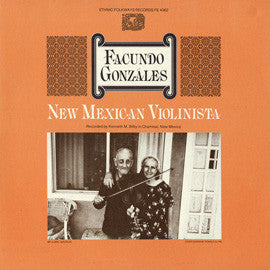 Facundo Gonzales  New Mexican Violinista (1979) CD