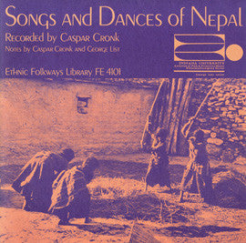 Songs and Dances of Nepal (1964)  CD