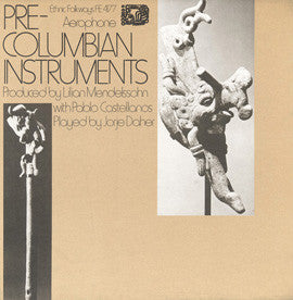 Pre-Colombian Instruments (1972)  Jorje Daher 2 CD set