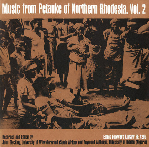 Music from Petauke of Northern Rhodesia, Vol. 2 CD