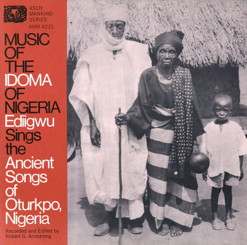 Music of the Idoma of Nigeria  Ediigwu CD