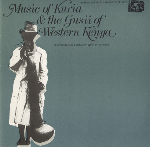 Music of Kuria and Gusii of Western Kenya CD