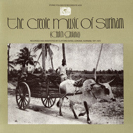 Creole Music of Surinam (1978)  CD