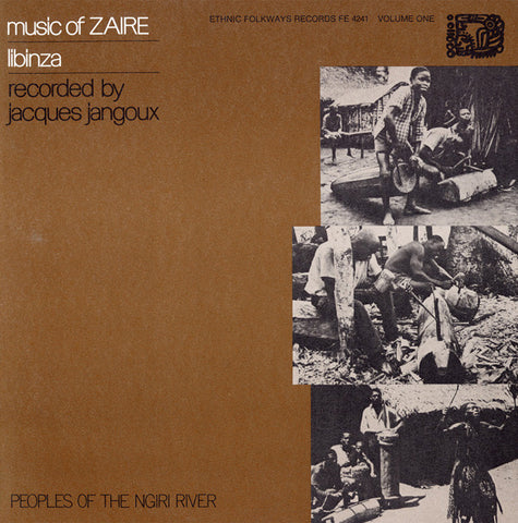 Music of Zaire, Vol 1  Libinza Peoples of the Nigri River (1973) CD