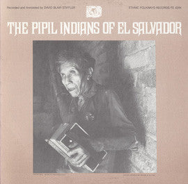 The Pipil Indians of El Salvador (1983)  CD
