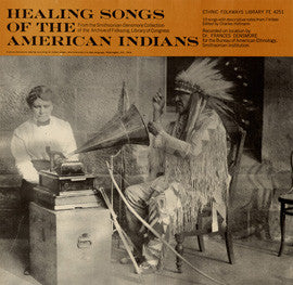 Healing Songs of the American Indians (1965)  CD