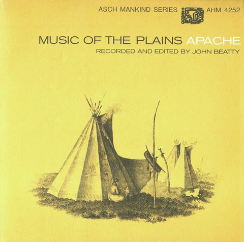 Music of the Plains Apache (1968)  CD