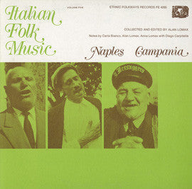 Italian Folk Music, Vol. 5  Naples, Campania (1972)  CD