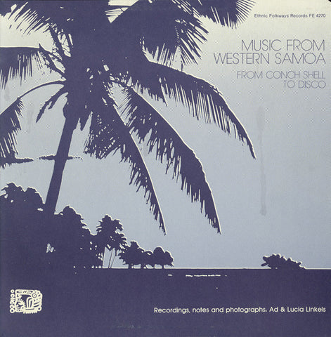 Music from Western Samoa  From Conch Shell to Disco (1984)  CD