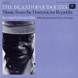 The Island of Quisqueya  Music from the Dominican Republic, Vol. 1 (1976)  CD