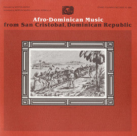 Afro-Dominican Music from San Cristobal, Dominican Republic (1983)  CD