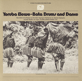 Yoruba Bata Drums  Elewe Music and Dance  CD
