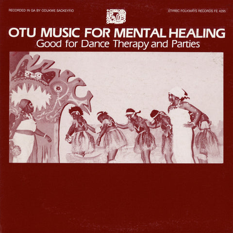 Otu (Ga) Music for Mental Healing  For Dance Therapy and Parties CD