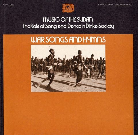 Music of the Sudan, Vol 1  Song and Dance in Dinka Society - War Songs and Hymns CD