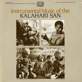 Instrumental Music of the Kalahari San  CD