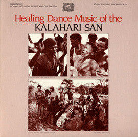 Healing Dance  Music of the Kalahari San  CD