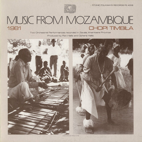 Music from Mozambique, Vol 2  Chopi Timbila CD