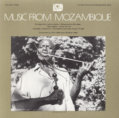 Music from Mozambique, Vol 3  Chordophonic Music  CD