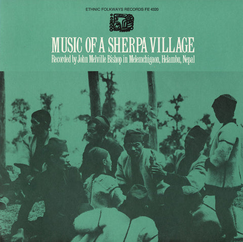 Music of a Sherpa Village, Nepal (1973)  CD