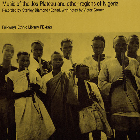 Music of the Jos Plateau and Other Regions of Nigeria  CD