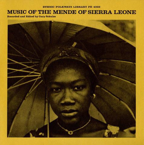 Music of the Mende of Sierra Leone CD