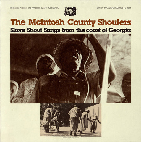 McIntosh County Shouters  Slave Shout Songs from the Coast of Georgia (1965) CD