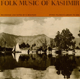 Folk Music of Kashmir (1962)  CD