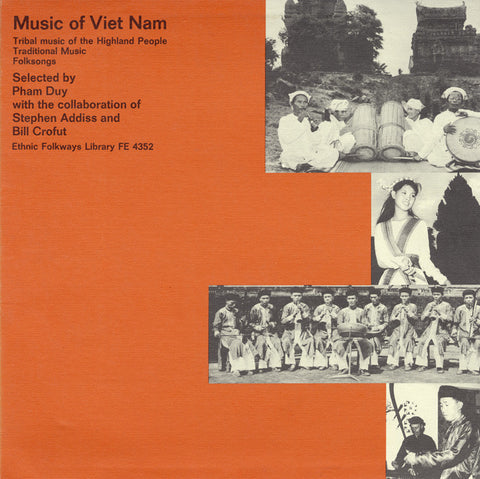 Music of Vietnam  Tribal Music of the Highland People (1965)  CD