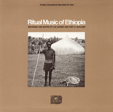 Ritual Music of Ethiopia CD
