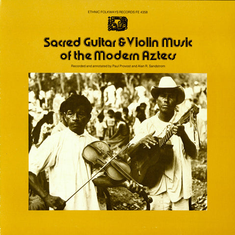 Sacred Guitar and Violin Music of the Modern Aztecs (1977)  CD