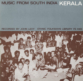 Music from South India  Kerala (1961) CD