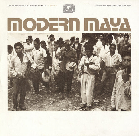 Modern Mayan  Indian Music of Chiapas, Mexico, Vol. 2 (1977)  CD