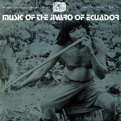 Music of the Jivaro of Ecuador (1973)  CD