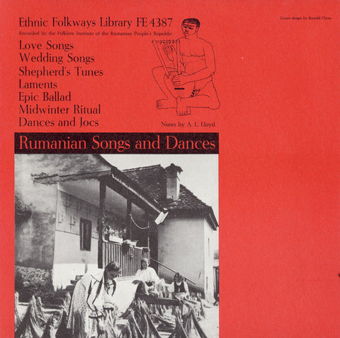 Romanian Songs and Dances (1958)  CD