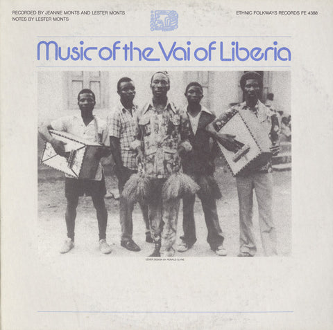 Music of the Vai of Liberia CD