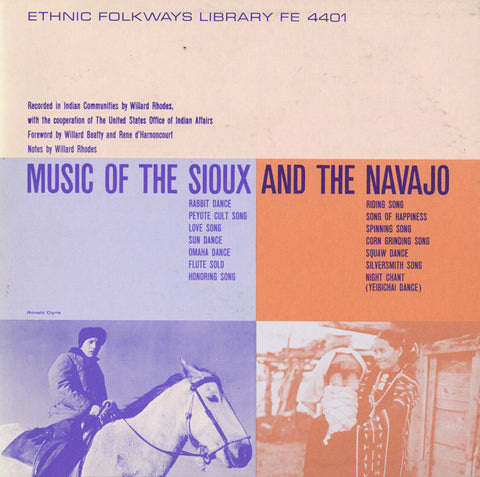 Music of the Sioux and the Navajo (1949)  CD